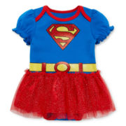 Supergirl Tutu - Baby Girls newborn-24m