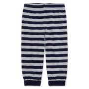 Okie Dokie® Striped Grow-Cuff Pants - Baby Boys newborn-24m