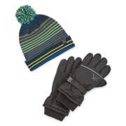 ZeroXposur® Ski Glove and Hat Set - Boys 8-20