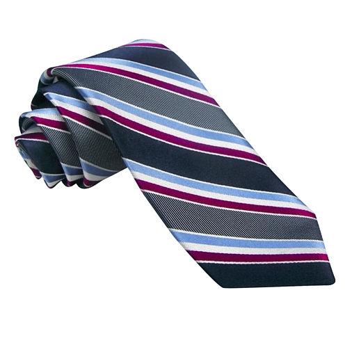 Stafford Marco Bay Stripe Texture Tie