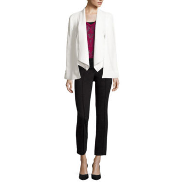 jcpenney.com | nicole by Nicole Miller® Cape Jacket, Burnout Top or Ankle Pants