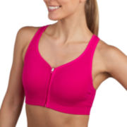 Jockey® Zip-Front High-Impact Seamless Sports Bra