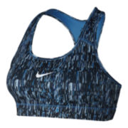 Nike® Screen Fuzz Victory Compression Sports Bra