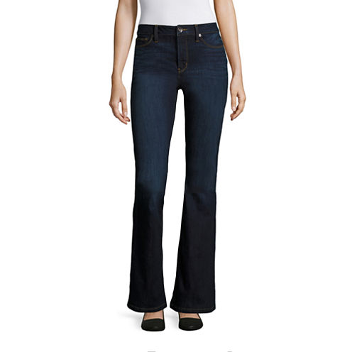 Stylus™ High-Rise Flare Jeans - Tall - JCPenney