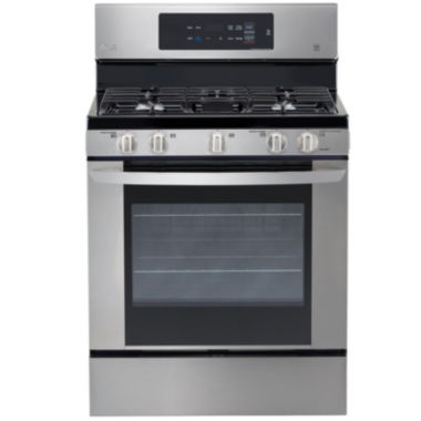 jcpenney.com | LG 5.4 cu. ft. Capacity Single Oven Gas Range with EasyClean®