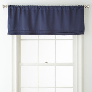 jcpenney.com | Liz Claiborne® Kathryn Rod-Pocket Tailored Valance