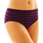 Jockey® Matte and Shine High-Cut Panties - 1306