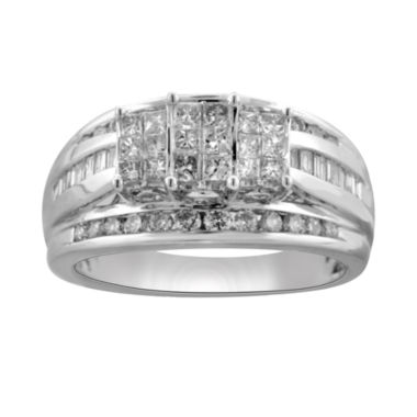 jcpenney.com | 1 CT. T.W. Princess Diamond 3-Stone Engagement Ring