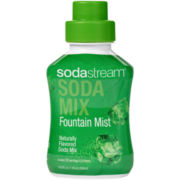 SodaStream™  Fountain Mist Flavored Soda Mix