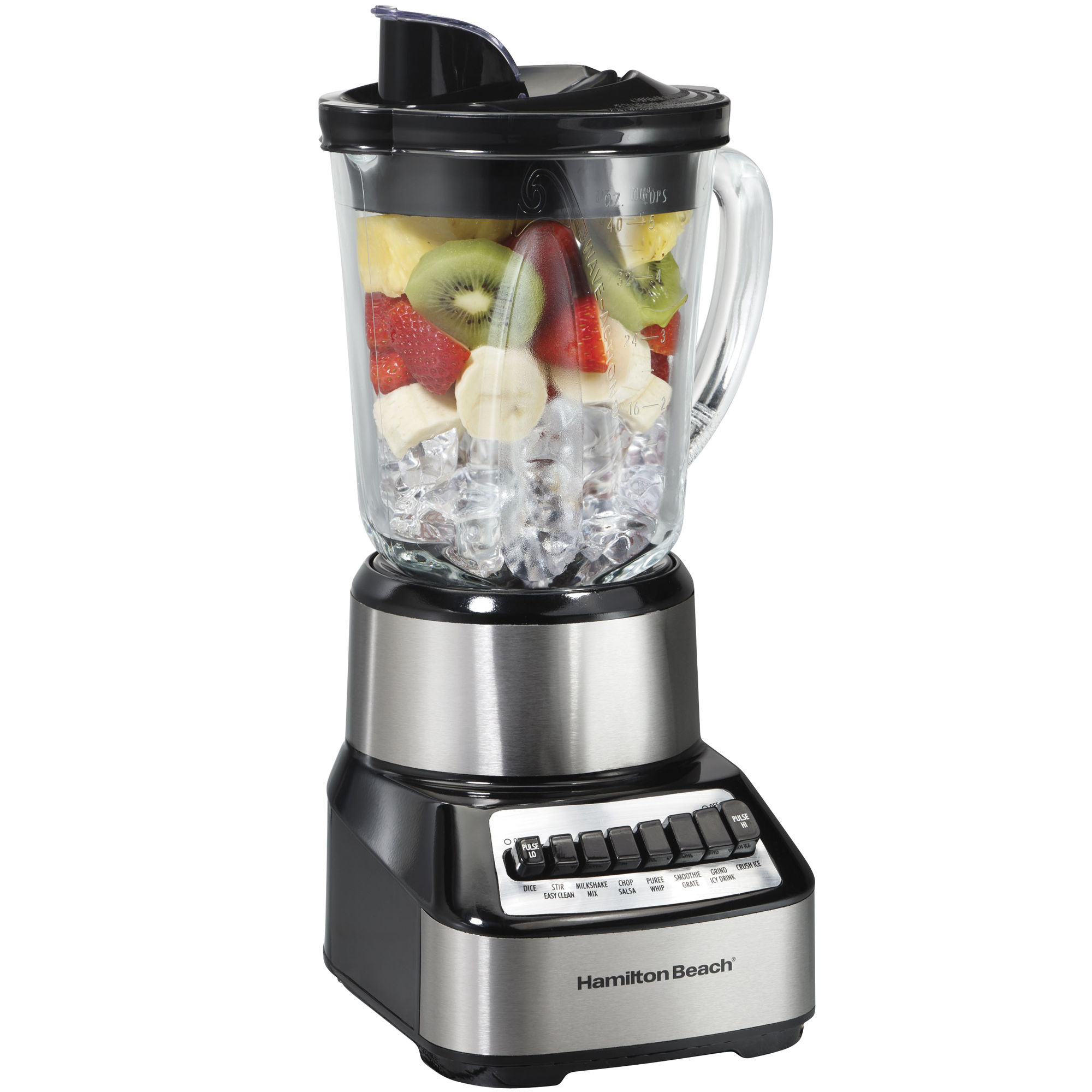 Hamilton Beach Wave Crusher Multi-Function Glass Jar Blender