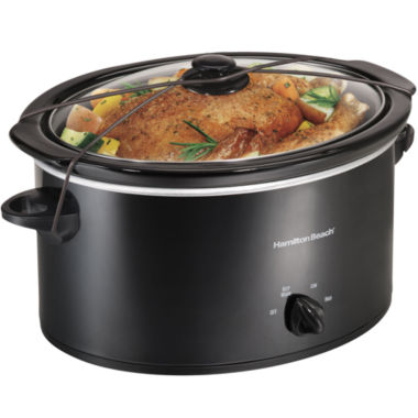 jcpenney.com | Hamilton Beach® 5-qt. Oval Slow Cooker