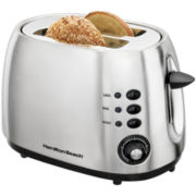 Hamilton Beach® 2-Slice Brushed Metal Toaster