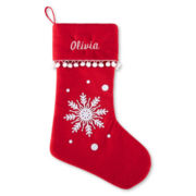 MarthaHoliday™ Snowflake Stocking + FREE MONOGRAMMING