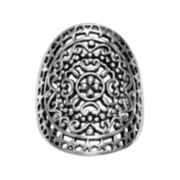 Filigree Oval Statement Ring