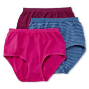 Jockey® Comfies® 3-pk. Briefs - 3348