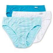 Jockey® Elance® Supersoft 3-pk. High-Cut Panties - 2071