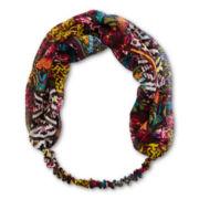 Carole Multicolor Chiffon Love Knot Head Wrap