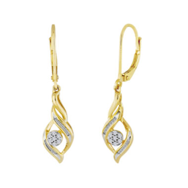 jcpenney.com | diamond blossom 1/5 CT. T.W. Diamond Cluster Earrings