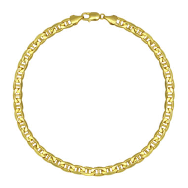 "jcpenney.com | 10K Yellow Gold 22"" Hollow Mariner Chain Necklace"