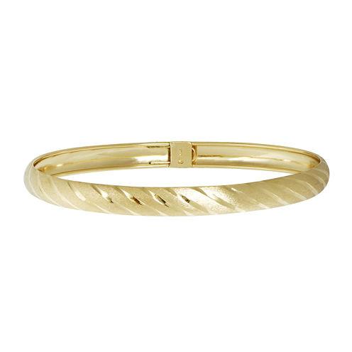 14K Yellow Gold Flex Bracelet