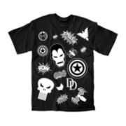 Marvel® Symbols Graphic Tee