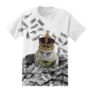Cat Make It Rain Graphic Tee