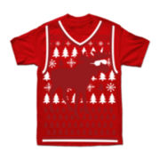 Reindeer Shades Graphic Tee