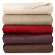 JCPenney Home™ Mink Sherpa Throw