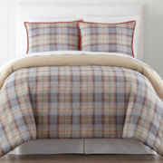 JCPenney Home™ Campton Plaid Comforter Set
