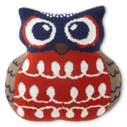 JCPenney Home™ Owl-Shaped Decorative Pillow