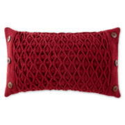 JCPenney Home™ Diamond Woven Oblong Decorative Pillow