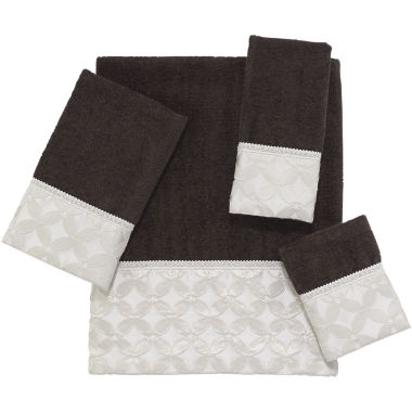 jcpenney.com | Avanti Floral Grid Bath Towels
