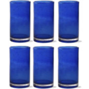 Bubble Glass Set of 6 Tumblers