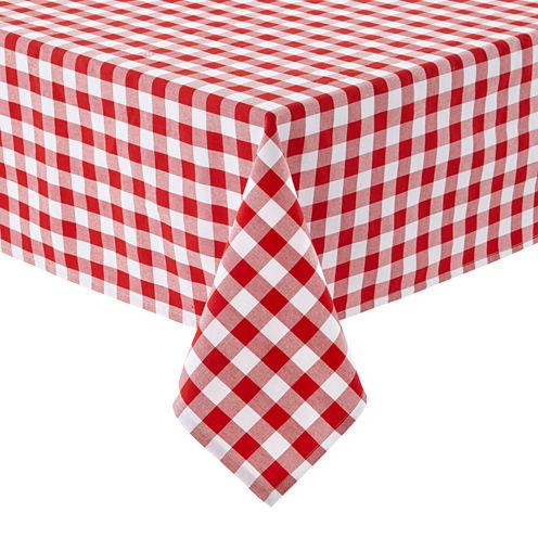 Café Check Tablecloth