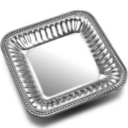 Wilton Armetale® Pearls Square Serving Tray