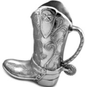 Wilton Armetale® Cowboy Boot Pitcher