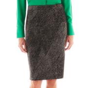Liz Claiborne Print Knit Skirt
