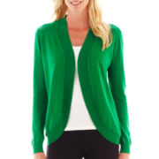 Liz Claiborne® Shawl-Collar Cardigan Sweater - Tall