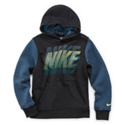 Nike® Brushed Fleece Pullover Hoodie - Boys 8-20