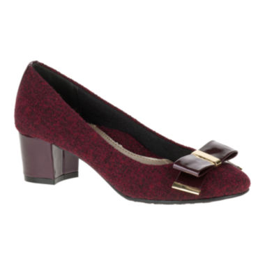 jcpenney.com | Soft Style® by Hush Puppies Tacita Block Heel Pumps