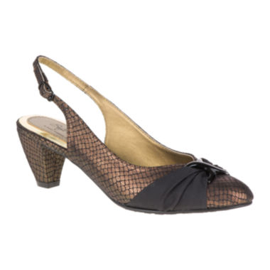 jcpenney.com | Soft Style® by Hush Puppies Dezarae Slingback Pumps