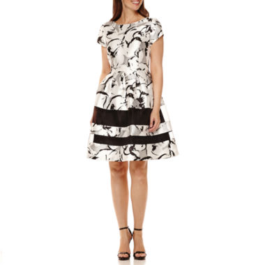 jcpenney.com | Scarlett Short-Sleeve Floral Party Dress
