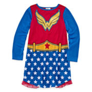 DC® Super Heroes Wonder Woman Nightshirt with Cape