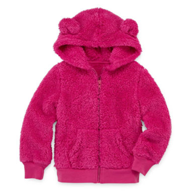jcpenney.com | Arizona Long-Sleeve Teddy Bear Hoodie - Preschool Girls 4-6x