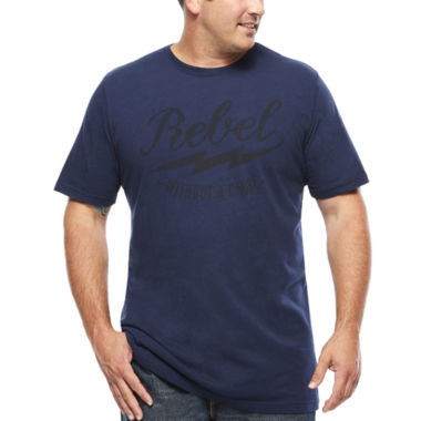 jcpenney.com | The Foundry Supply Co.™ Graphic Rebel T-Shirt