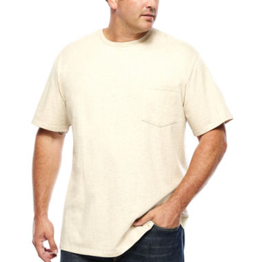 jcpenney.com | The Foundry Supply Co.™ Short-Sleeve Pocket T-Shirt - Big & Tall