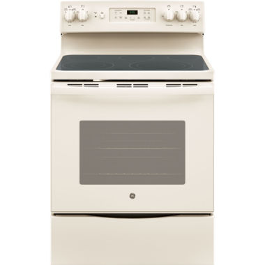 "jcpenney.com | GE® 30"" Free-Standing Electric Convection Range"""