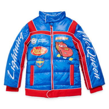 jcpenney.com | Disney Collection Cars Puffy Jacket - Boys