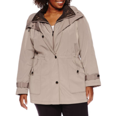 jcpenney.com | Miss Gallery® Anorak Stadium Coat - Plus
