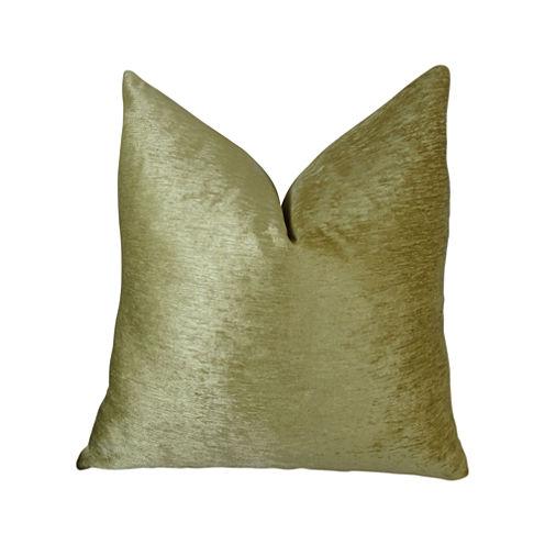 Plutus Tied Rows Handmade Throw Pillow